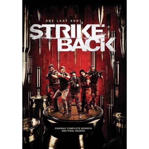 Strike Back Cinemax Season Seven Dvd 2020 Target
