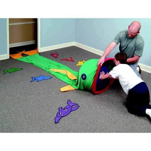 Abilitations Fish Tunnel Play Tent, 12 x 3 feet - image 1 of 4