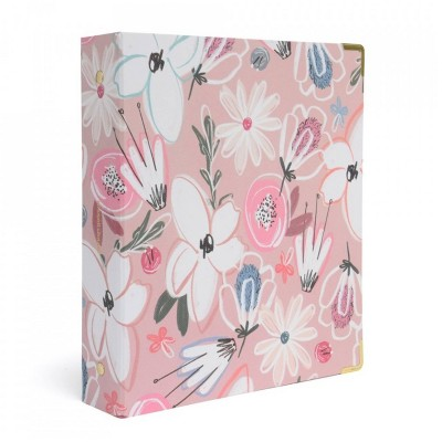 Russell+Hazel Mini 3 Ring Binder Floral