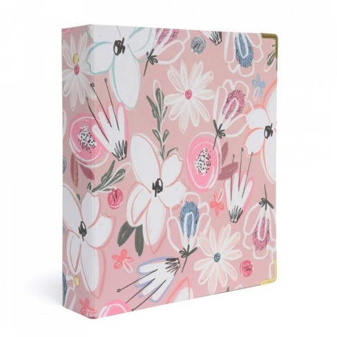 Russell+Hazel Mini 3 Ring Binder Floral - image 1 of 4