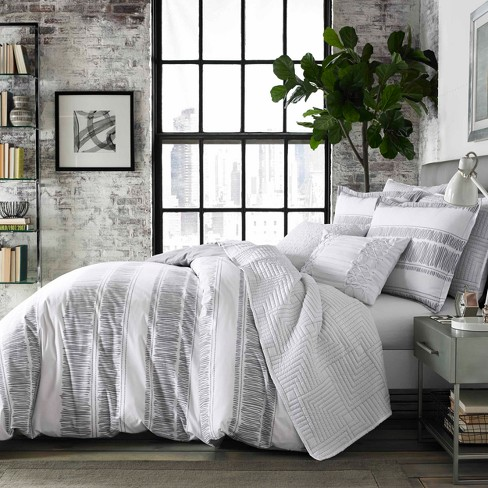 Comforter Sets.White Ziggy Comforter Set City Scene