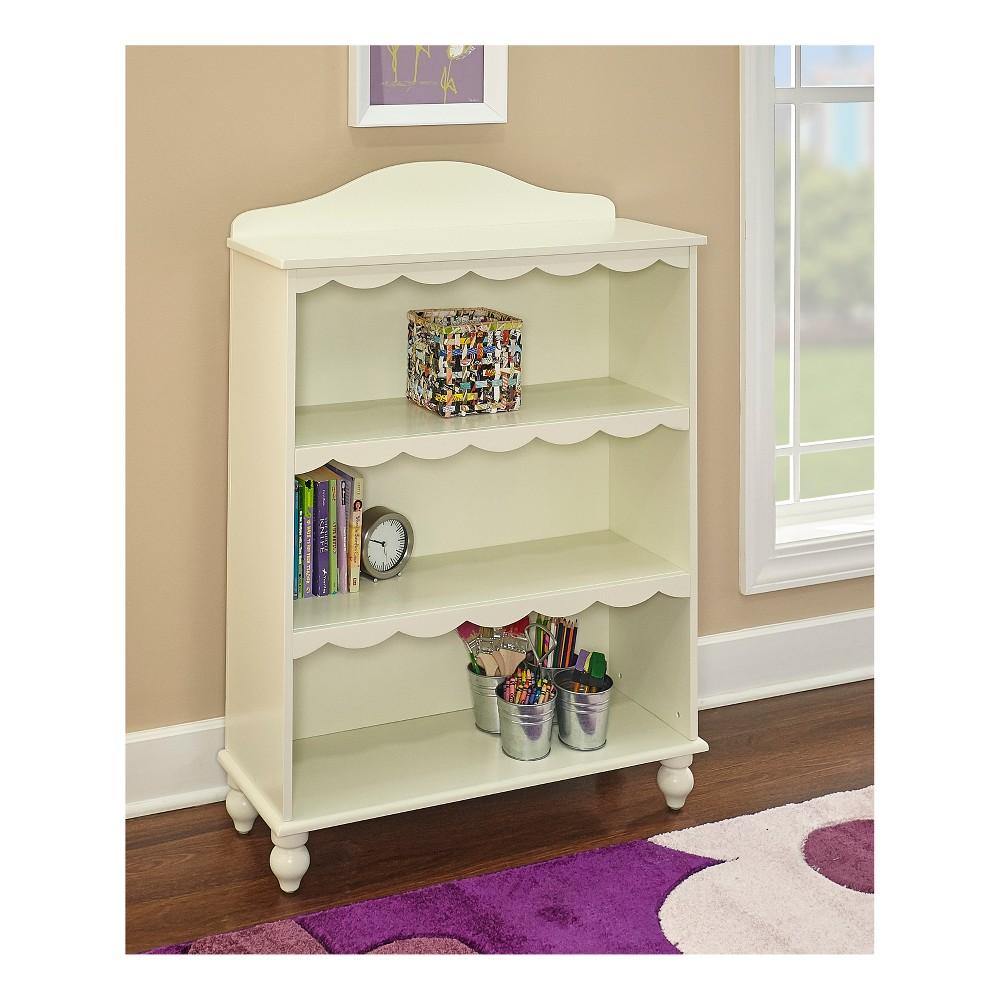 Image of Grace Bookcase Vanilla - Powell Company, White