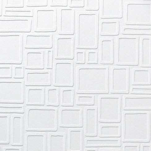 Paintable Wallpaper- Squares - image 1 of 2