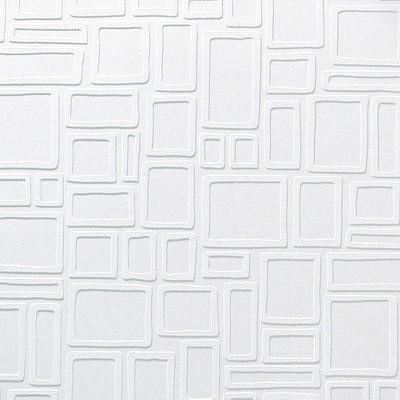 Paintable Wallpaper  Squares