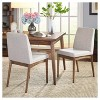 Element Dining Chair (Set Of 2) - Walnut - Target Marketing Systems - image 2 of 3