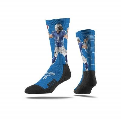NFL Detroit Lions Matthew Stafford Premium Socks - M/L