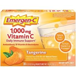 Emergen-C Vitamin C Dietary Supplement Drink Mix - Tangerine - 30ct