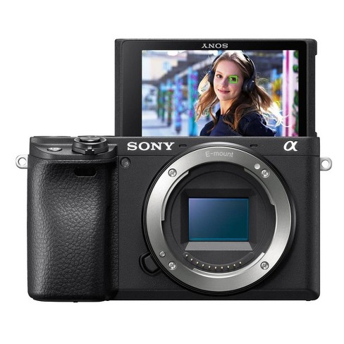 Sony Alpha a6600 Mirrorless Digital Camera Body - image 1 of 4