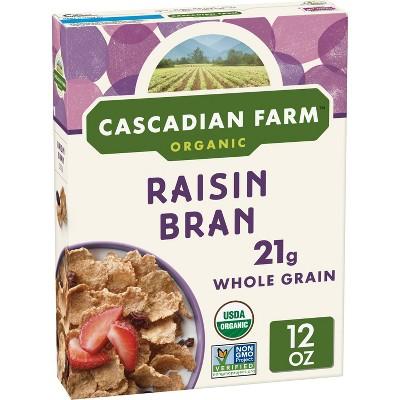 Cascadian Farm Raisin Bran Breakfast Cereal - 12oz