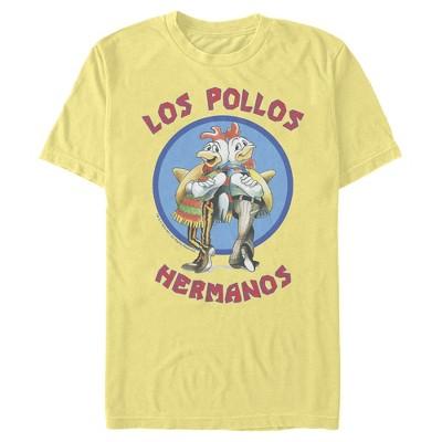 Men's Breaking Bad Los Pollos Hermanos Chicken Logo T-Shirt