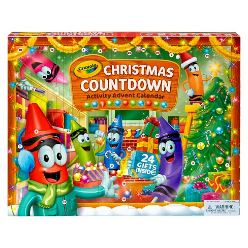 Crayola® Christmas Countdown Activity Advent Calendar - image 1 of 5