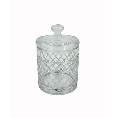 Marquis Cotton Jar Clear - Popular Bath