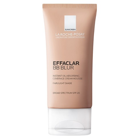 La Roche Posay Effaclar BB Blur Fair Or Light Oil Absorbing Face Cream with Sunscreen - SPF 20 - 1.0oz - image 1 of 3