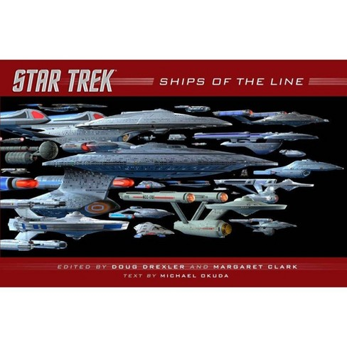 Ships of the Line - (Star Trek) by  Doug Drexler & Margaret Clark (Hardcover) - image 1 of 1