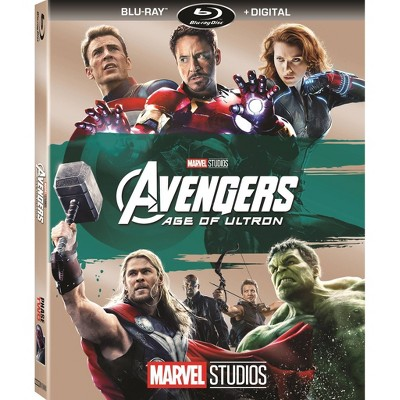 Marvel's Avengers: Age Of Ultron Blu-ray + Digital