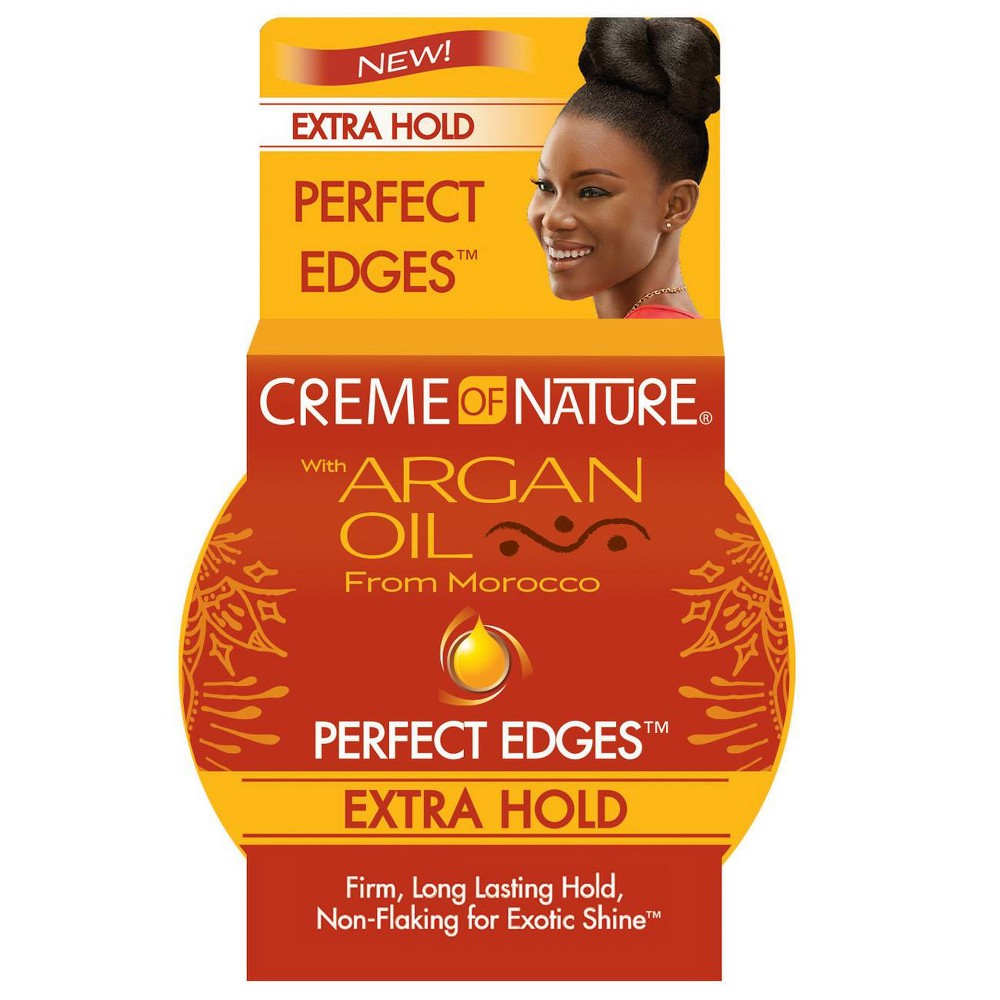 Image of Creme of Nature Argan Oil Perfect Edges Extra Hold - 2.25oz