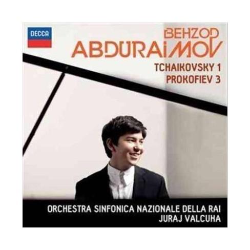 Behzod Abduraimov - Tchaikovsky/Prokofiev: Piano Concerto No. 1/Piano Concerto No. 3 (CD) - image 1 of 1