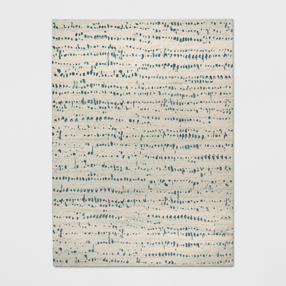 5'X7' Woven Fleck Area Rug Cream (Ivory) - Project 62
