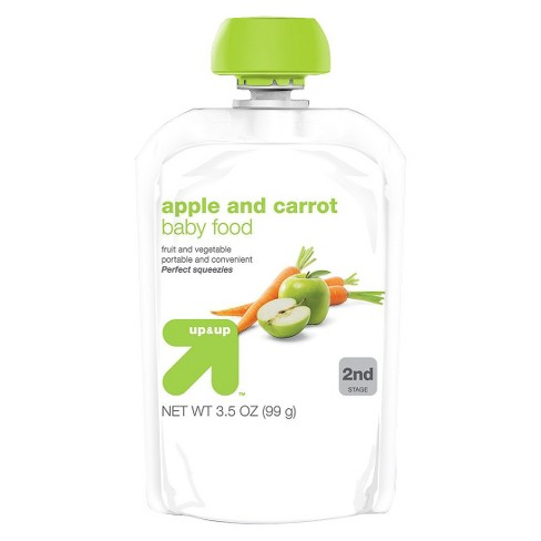 Baby Food - Apple Carrot - 3.5oz - Up&Up™ - image 1 of 1