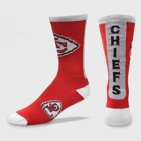 0643f081 NFL Kansas City Chiefs Ticket Crew Socks