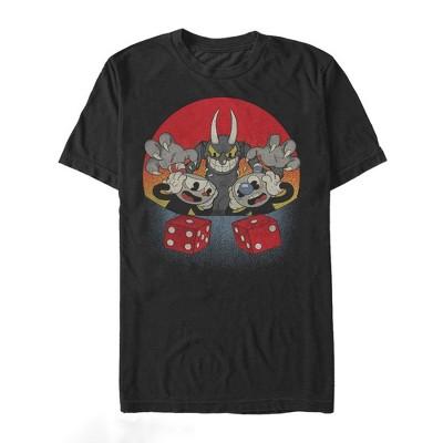 Men's Cuphead Snake Eyes T-Shirt
