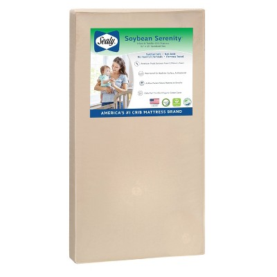 Sealy Nature Couture Soybean Serenity Crib Mattress