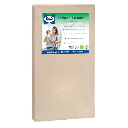 Sealy Nature Couture Soybean Serenity Crib Mattress - image 1 of 4