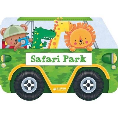 Safari Park - (Wonder Wheels) by  Nick Ackland (Board Book)