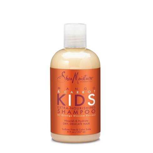 SheaMoisture Mango & Carrot Kids Extra-Nourishing Shampoo - 8 fl oz - image 1 of 3
