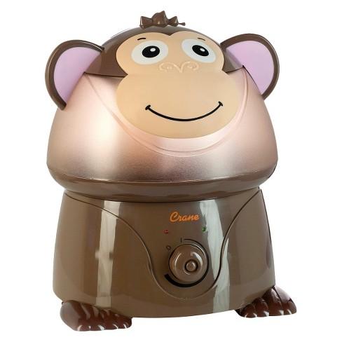 Crane Adorable Monkey Ultrasonic Cool Mist Humidifier - 1gal - image 1 of 4