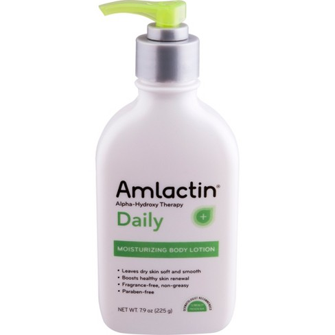 Unscented AmLactin Alpha-Hydroxy Therapy Daily Moisturizing Body Lotion - 7.9oz - image 1 of 4