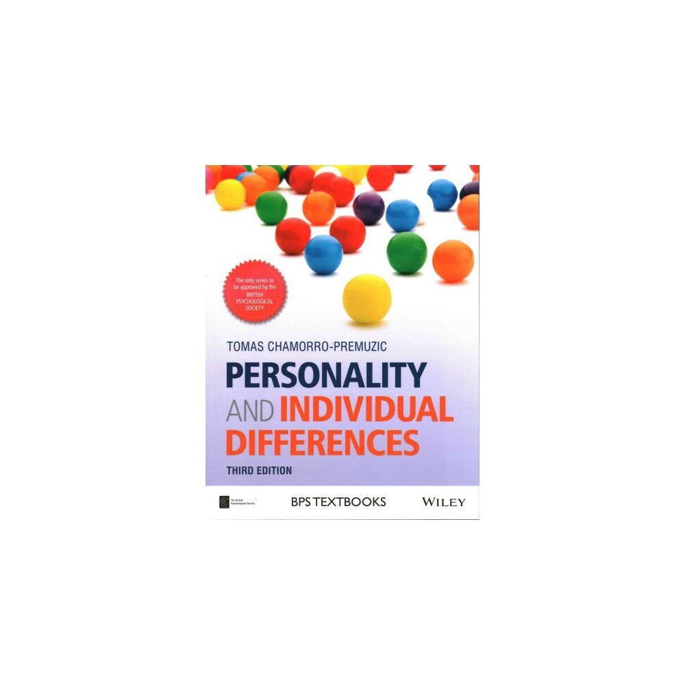 Personality and Individual Differences (Paperback) (Tomas Chamorro-Premuzic)