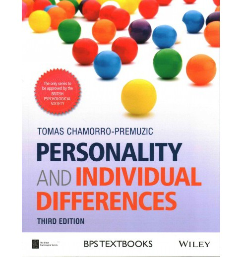 Personality and Individual Differences (Paperback) (Tomas Chamorro-Premuzic) - image 1 of 1