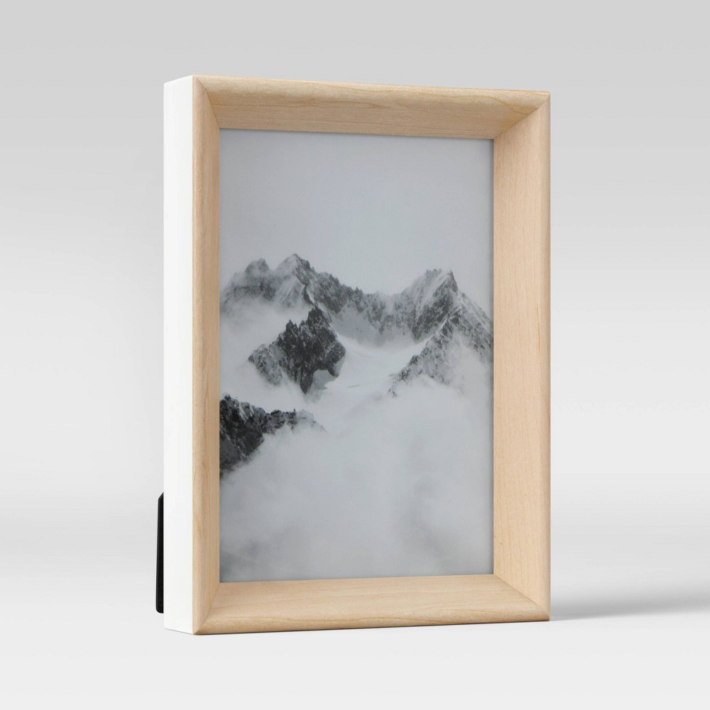 5 34 X 7 34 Two Tone Rounded Wedge Picture Frame Art White Project 62 8482