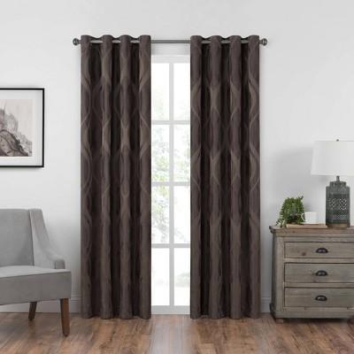 Caprese Grommet Top Blackout Curtain Panel - Eclipse