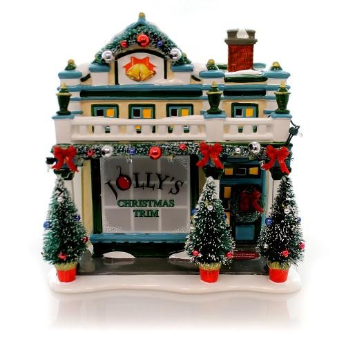 Department 56 House Jollys Christmas Shop Snow Village Mid Year Ltd Ed  -  Decorative Figurines - image 1 of 4