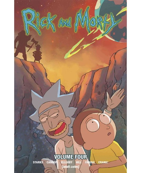 Rick and Morty 4 (Paperback) (Kyle Starks & Marc Ellerby) - image 1 of 1