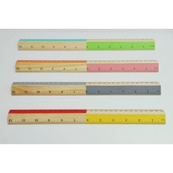 "12"" Wood Ruler 1ct - Up&Up™"