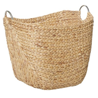 Olivia & May Large Seagrass Basket