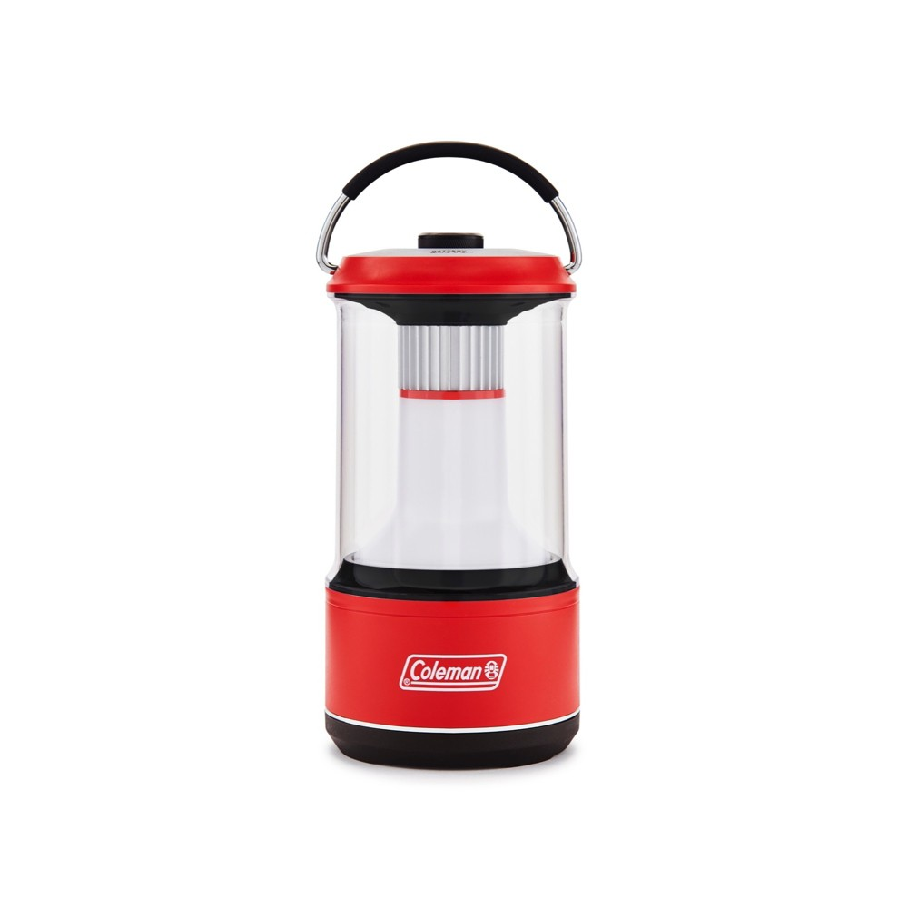 Image of Coleman 800 Lumens LED Lantern with BatteryGuard - Red