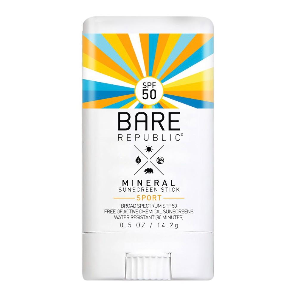 Image of Bare Republic Mineral Sport Sunscreen Stick - SPF 50 - 0.5oz