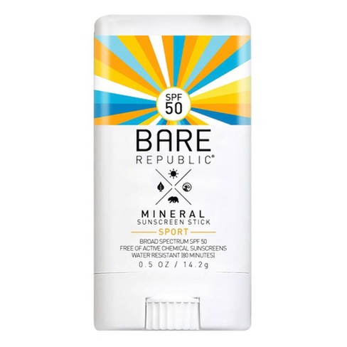 Bare Republic Mineral Sport Sunscreen Stick - SPF 50 - 0.5oz - image 1 of 5