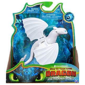 DreamWorks Dragons Lightfury Dragon Figure with Moving Parts