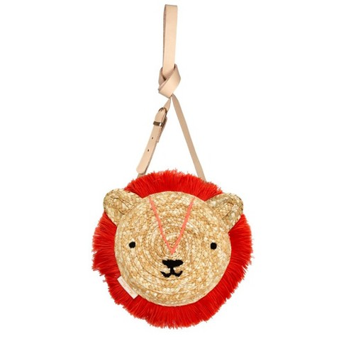 Meri Meri - Woven Lion Bag - Handbags - 1ct - image 1 of 2