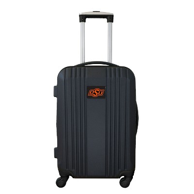 """NCAA 21"""" Hardcase Two-Tone Spinner Carry On Suitcase"""