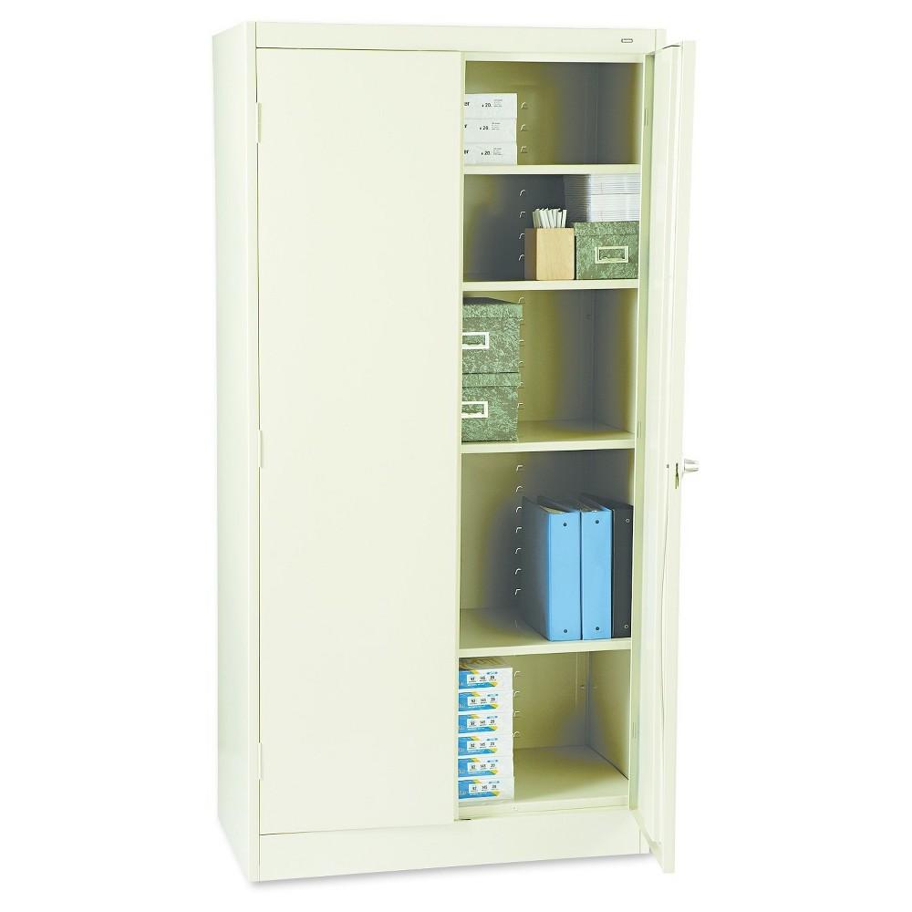 Tennsco 72 High Standard Cabinet, 36w x 18d x 72h, Putty (Pink)