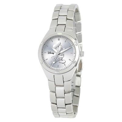 Women's Disney Mickey Mouse Fortaleza Watch - Silver