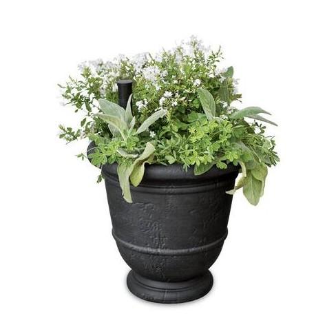 Kylemore Self-Watering Urn Planter - Gardener's Supply Company - image 1 of 2