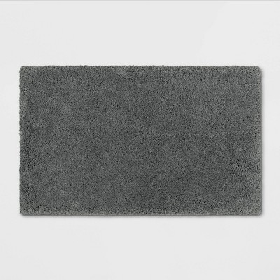 "21""x34"" Bath Rug Dark Gray - Threshold Signature™"