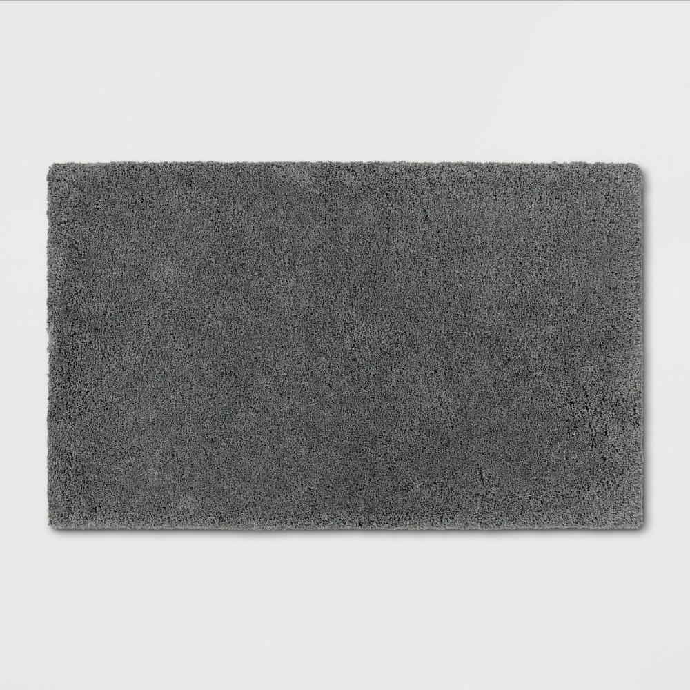 21 34 X34 34 Bath Rug Dark Gray Threshold Signature 8482